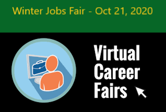 Picture of Virtual Winter Jobs Fair - Oct 21, 2020