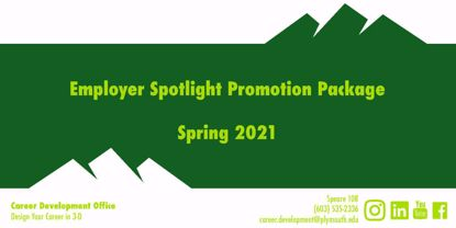 Picture of Spring 2021 Employer Spotlight Promotion Package