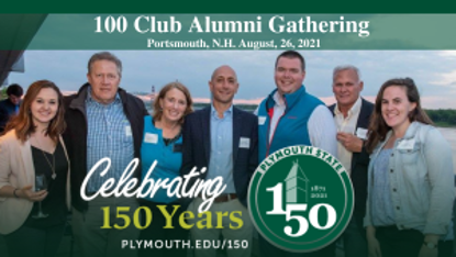 Picture of Alumni Gathering at the 100 Club in Portsmouth, Thursday, August 26