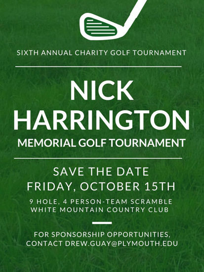 Picture of 6th Annual Nick Harrington Golf Tournament